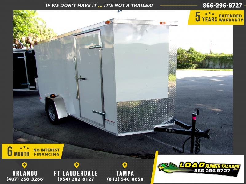 *111601* 6x12 Enclosed Cargo Trailer |LRT Haulers & Trailers 6 x 12