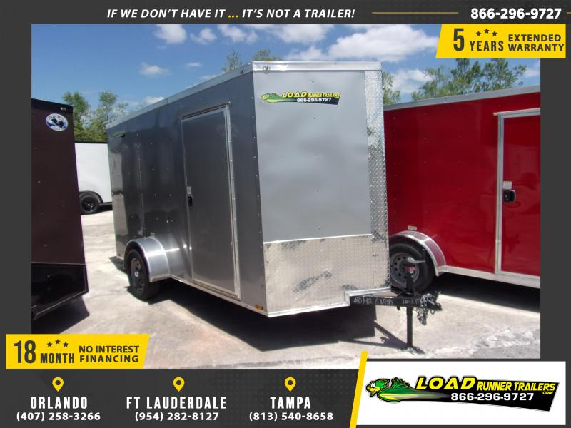 *114942* 6x12 Enclosed Cargo Trailer |LRT Haulers & Trailers 6 x 12