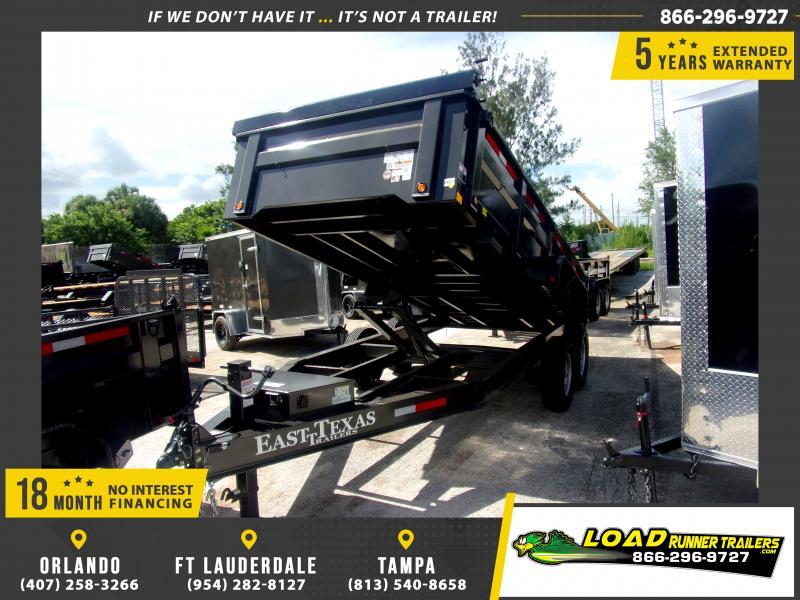 *117008* 7x16 Dump Trailer |LRT Tandem Axle Trailers 7 x 16
