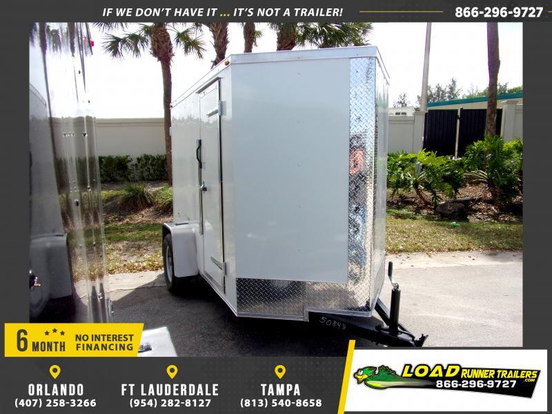 *114636* 5x8 Enclosed Cargo Trailer  LRT Haulers & Trailers 5 x 8