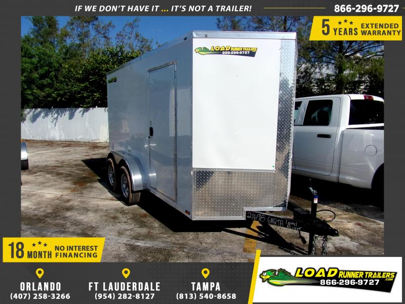 *112343* 6x12 Enclosed Cargo Trailer |LRT Tandem Axle Trailers 6 x 12