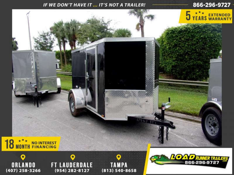 *109848* 5x8 Enclosed Cargo Trailer |LRT Haulers & Trailers 5 x 8