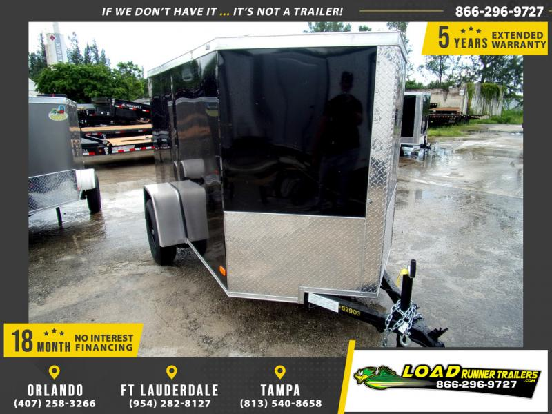 *110307* 5x8 Enclosed Cargo Trailer |LRT Haulers & Trailers 5 x 8