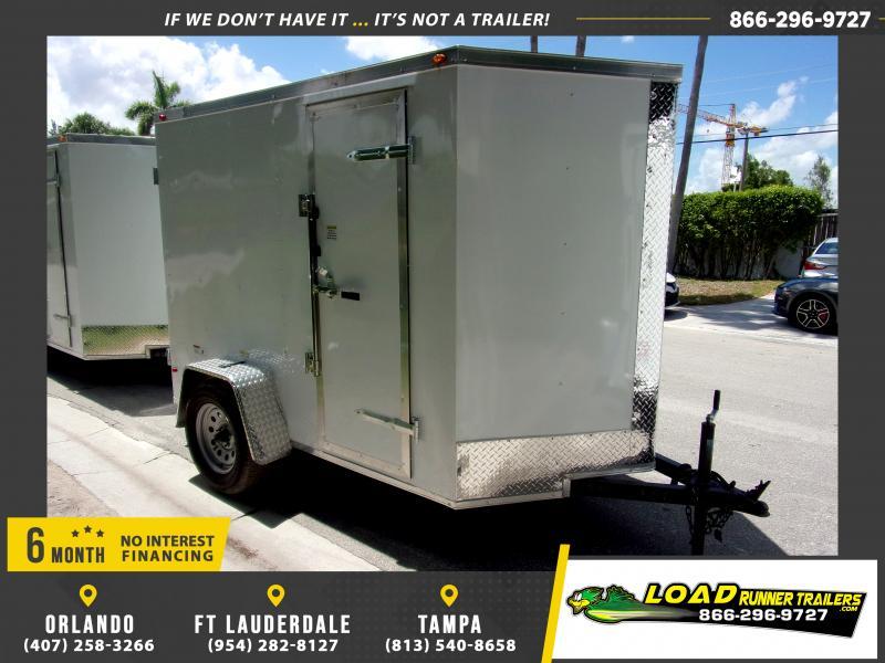 *115822* 5x8 Enclosed Cargo Trailer |LRT Haulers & Trailers 5 x 8