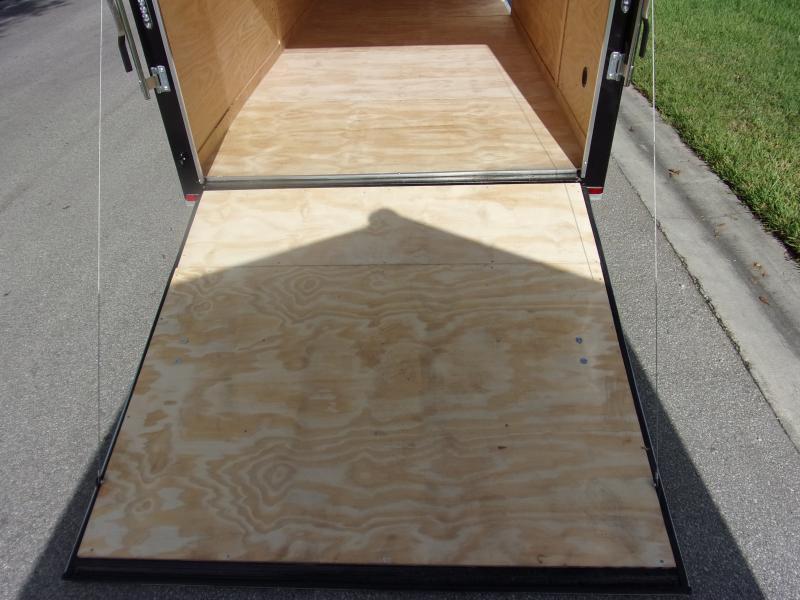 *110564* 7x16 Enclosed Cargo Trailer |LRT Tandem Axle Trailers 7 x 16