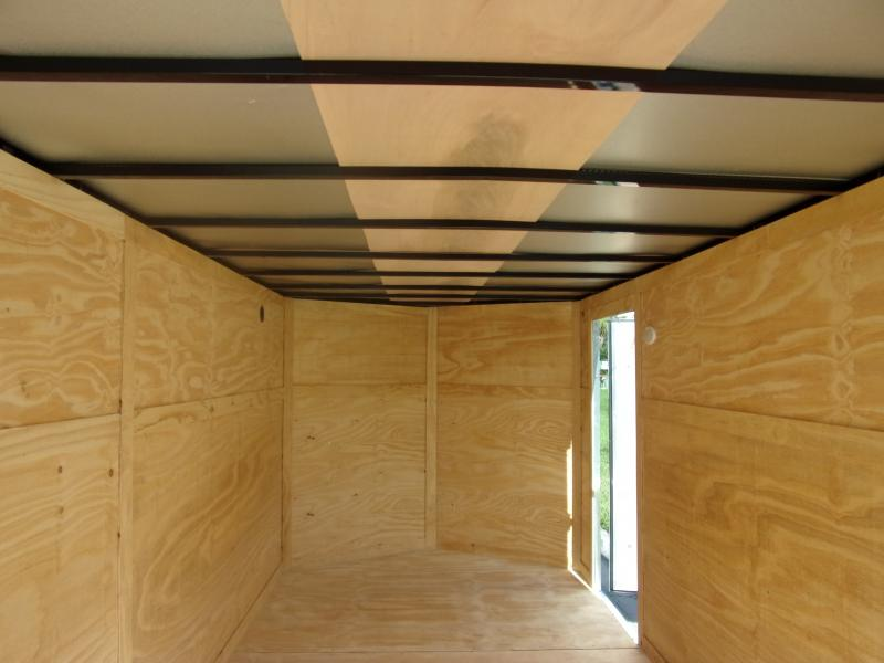 *110564* 7x16 Enclosed Cargo Trailer |LRT Tandem Axle Trailers 7 x 16