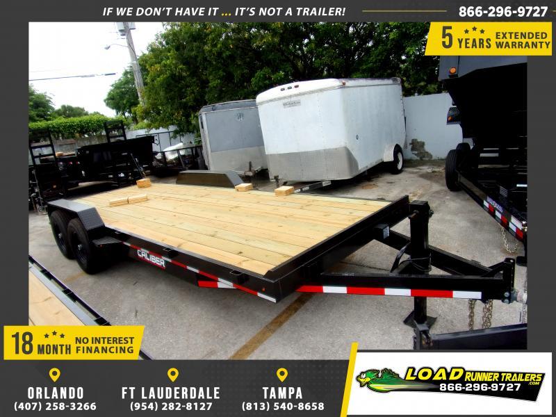 *116968* 7x22 Equipment Trailer |LRT Tandem Axle Trailers 7 x 22