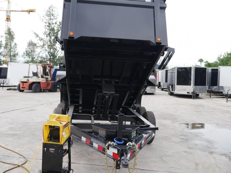 *DB36* 7x14 7 TON Dump Trailer W/3Ft Sides  Dumps & Trailers 7 x 14   D83-14T7-36S