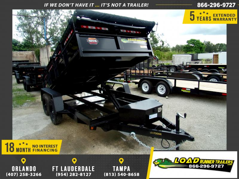 *116376* 6x12 7K Dump Trailer |LRT Dumps and Trailers 6 x 12