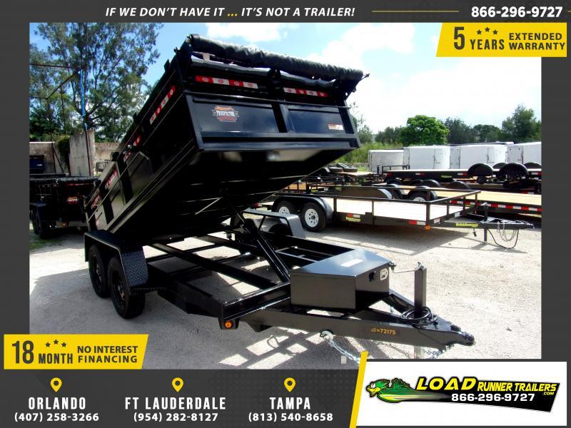 *116429* 6x12 7K Dump Trailer  LRT Dumps and Trailers 6 x 12