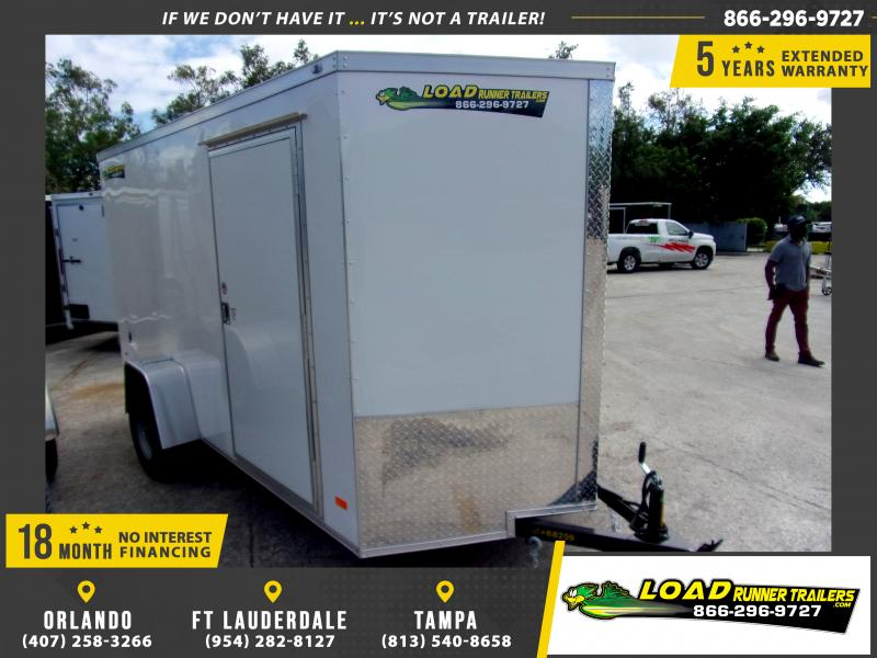 *118064* 6x12 Enclosed Cargo Trailer |LRT Haulers & Trailers 6 x 12