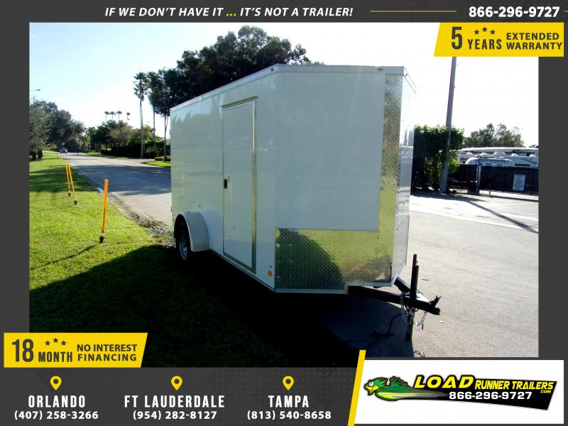 *114200* 6x12 Enclosed Cargo Trailer |LRT Haulers & Trailers 6 x 12