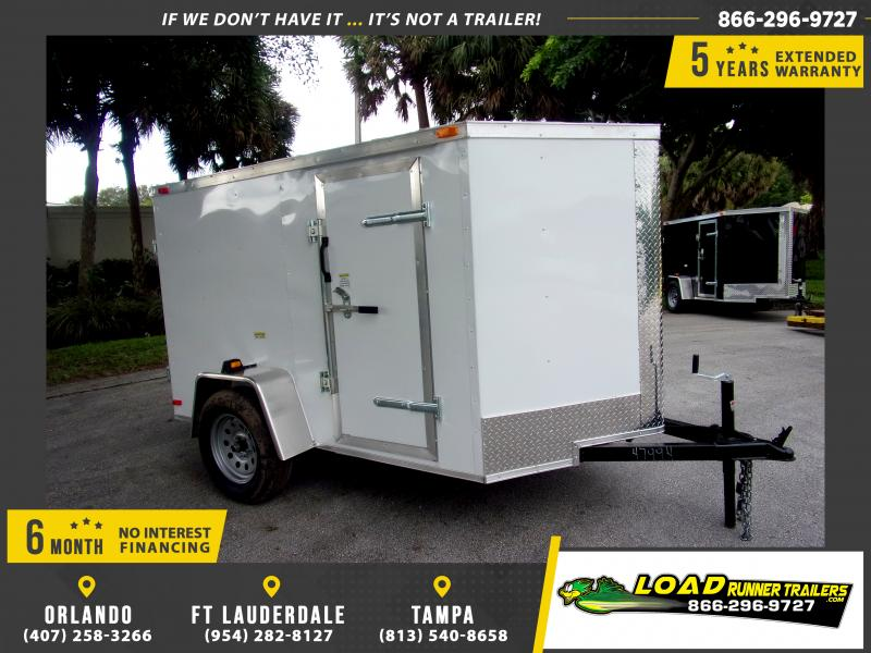 *112271* 5x8 Enclosed Cargo Trailer |LRT Haulers & Trailers 5 x 8