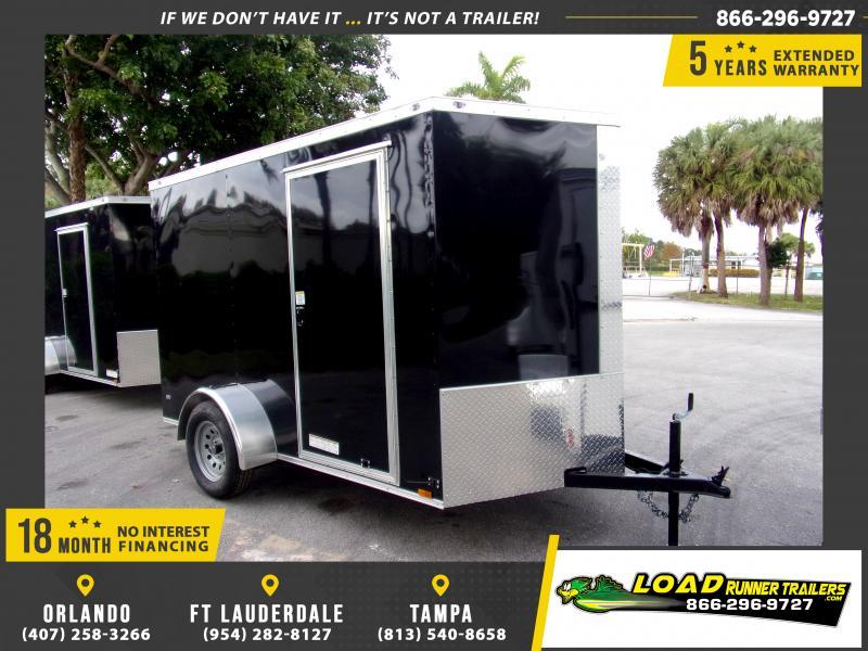*113142* 6x10 Enclosed Cargo Trailer |LRT Haulers & Trailers 6 x 10