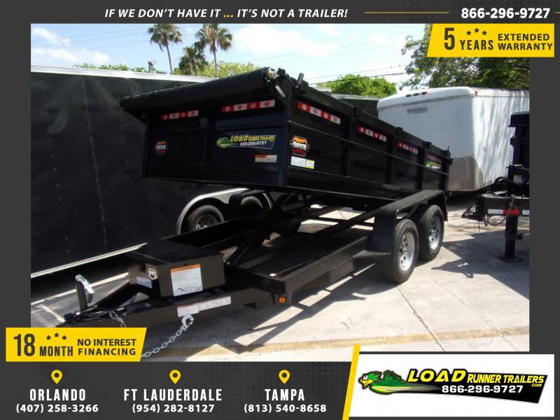 "*116354* 6x12 7K Dump Trailer W/27"" Sides 6 x 12"