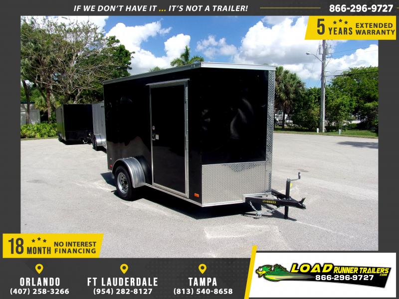 *115183* 6x10 Enclosed Cargo Trailer |LRT Haulers & Trailers 6 x 10
