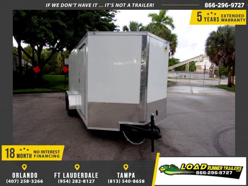 *115162* 7x16 Enclosed Cargo Trailer |LRT Tandem Axle Trailers 7 x 16