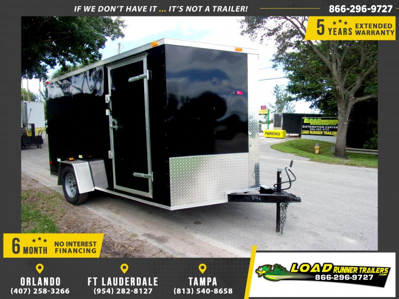 *112427* 7x12 Enclosed Cargo Trailer |LRT Haulers & Trailers 7 x 12