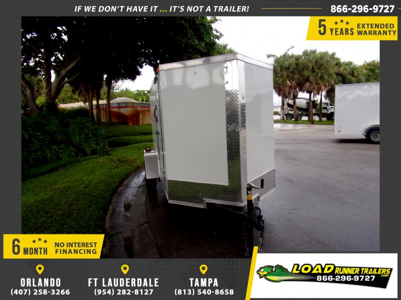 *111895* 5x10 Enclosed Cargo Trailer |LRT Haulers & Trailers 5 x 10
