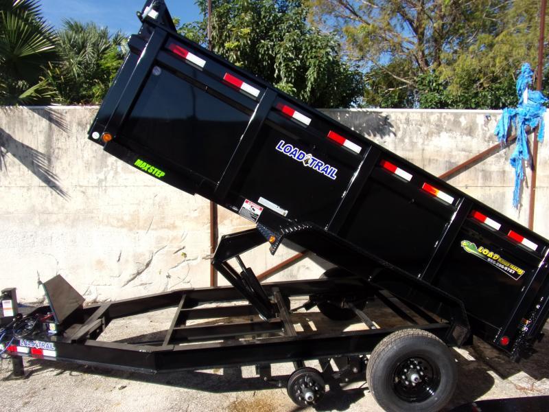 *116499* 7x14 Dump Trailer  LRT Tandem Axle Trailers 7 x 14