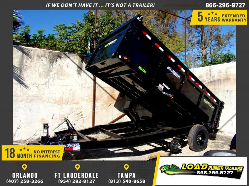 *116499* 7x14 Dump Trailer |LRT Tandem Axle Trailers 7 x 14