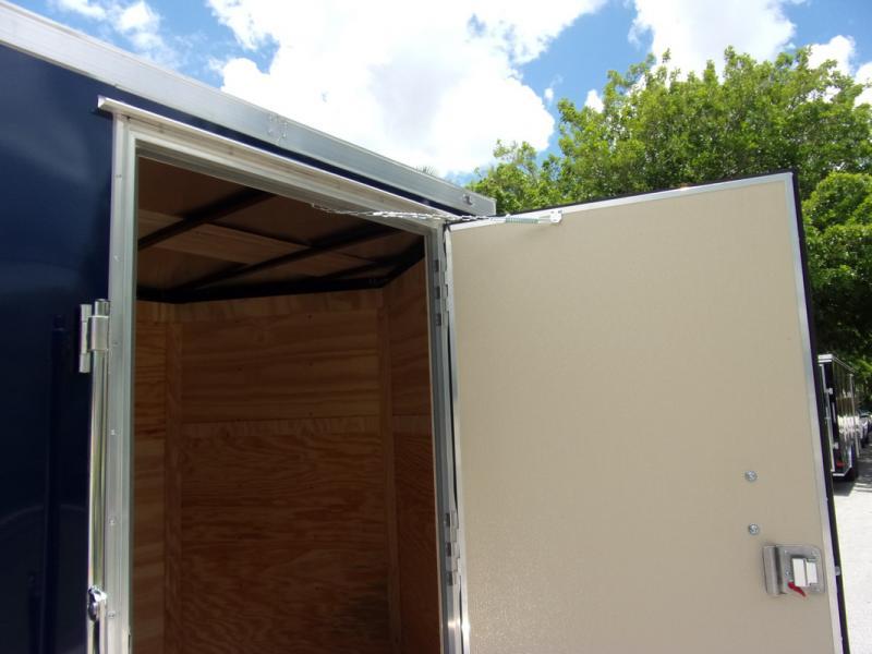 *110017* 7x14 Enclosed Cargo Trailer |LRT Tandem Axle Trailers 7 x 14
