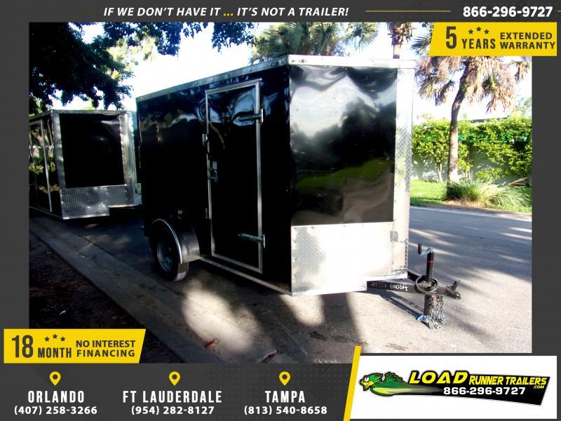 *118009* 6x10 Enclosed Cargo Trailer  LRT Haulers & Trailers 6 x 10