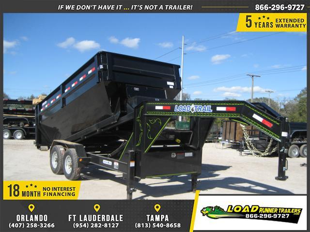 *DNG20* 7x14 Drop N Go Dump Trailer Tandem Axle Drop N Go |LR Trailers 7 x 14 | DNG83-14T7-FRAME