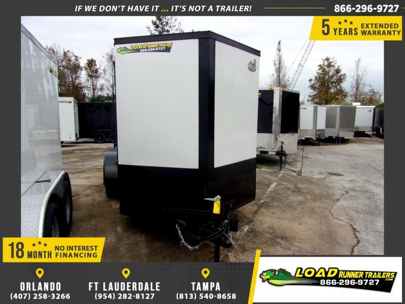 *113214* 6x12 Enclosed Cargo Trailer |LRT Tandem Axle Trailers 6 x 12
