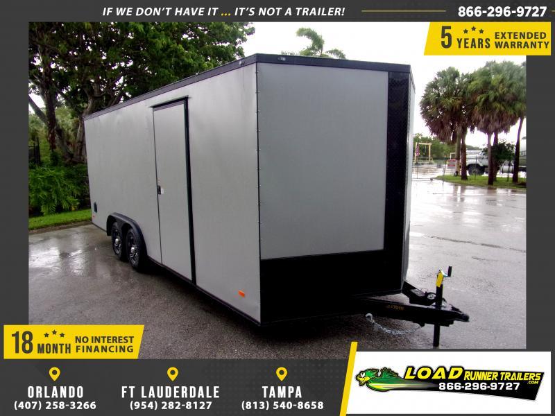 *118067* 8.5x20 Enclosed Cargo Trailer |LRT Tandem Axle Trailers 8.5 x 20