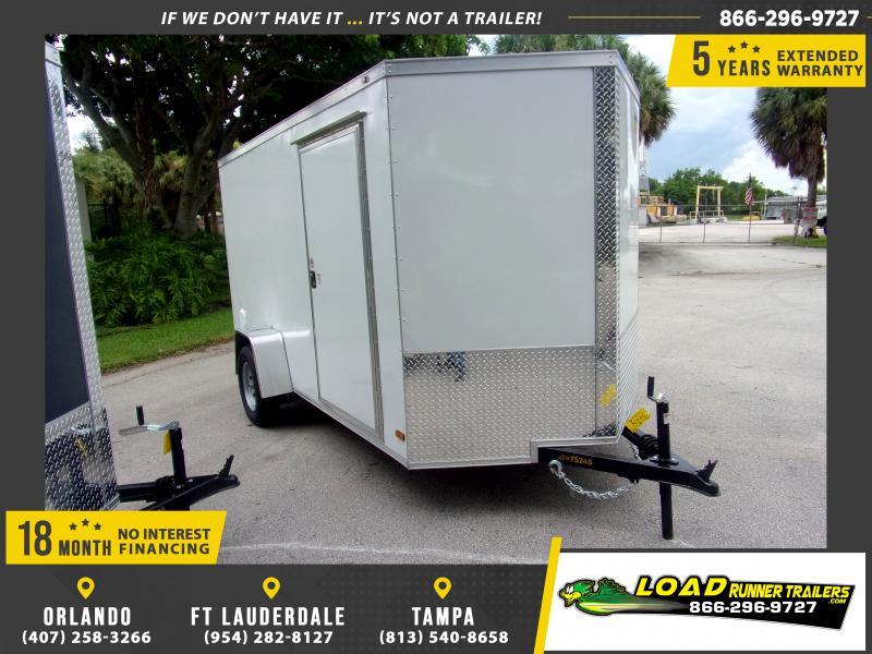 *116616* 6x12 Enclosed Cargo Trailer |LRT Haulers & Trailers 6 x 12