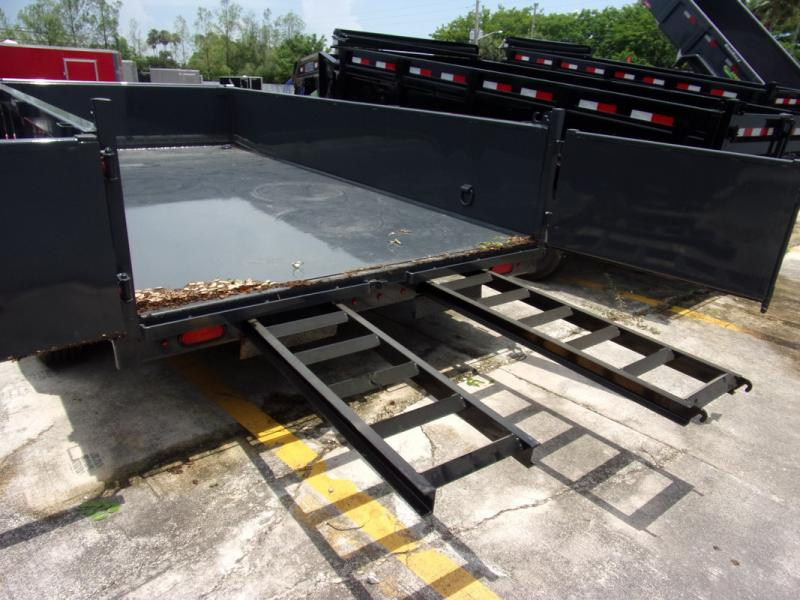 *109278* 7x14 Dump Trailer |LRT Tandem Axle Trailers 7 x 14