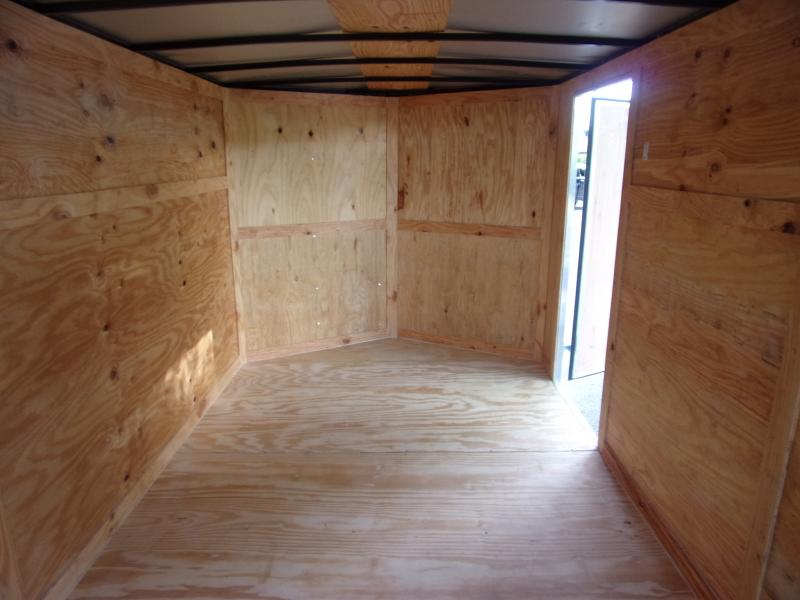 *112064* 7x16 Enclosed Cargo Trailer |LRT Tandem Axle Trailers 7 x 16