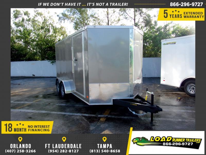 *111770* 7x14 Enclosed Cargo Trailer |LRT Tandem Axle Trailers 7 x 14