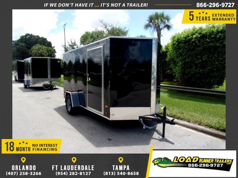 *117362* 6x12 Enclosed Cargo Trailer |LRT Haulers & Trailers 6 x 12