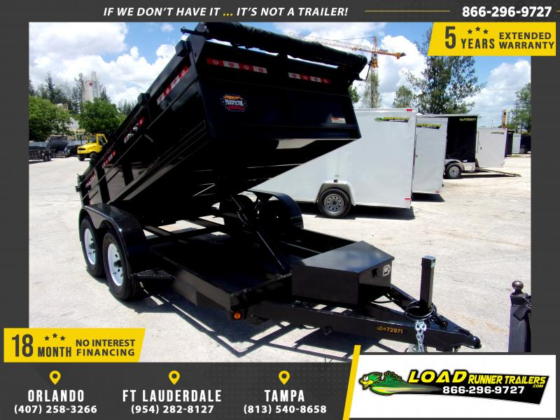 *115816* 6x12 5 TON Dump Trailer |LRT Trailers & Dumps 6 x 12