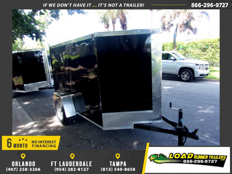 *117980* 5x8 Enclosed Cargo Trailer  LRT Haulers & Trailers 5 x 8