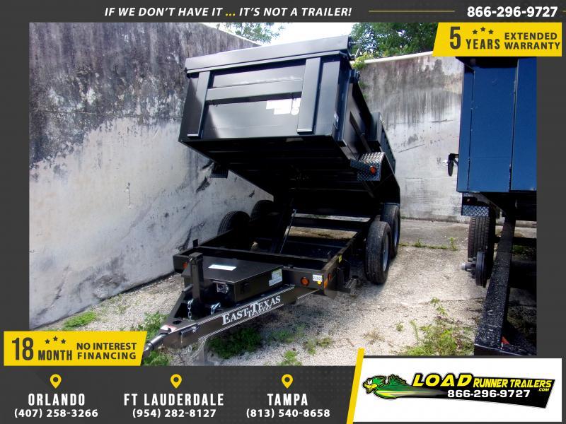 *DB50* 5x10 Dump Trailer |LRT Tandem Axle Trailers 5 x 10 | D60-10T3-24S