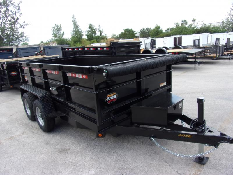 *115861* 6x12 5 TON Dump Trailer  LRT Trailers & Dumps 6 x 12