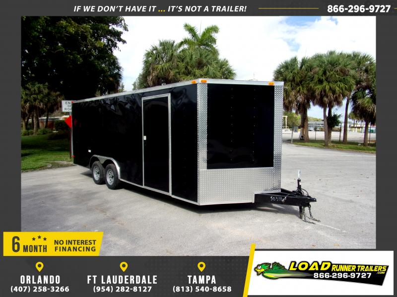 *113867* 8.5x20 Enclosed Cargo Trailer |LRT Tandem Axle Trailers 8.5 x 20