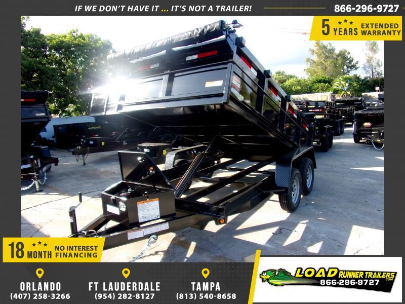 *118036* 6x12 5 TON Dump Trailer |LRT Trailers & Dumps 6 x 12