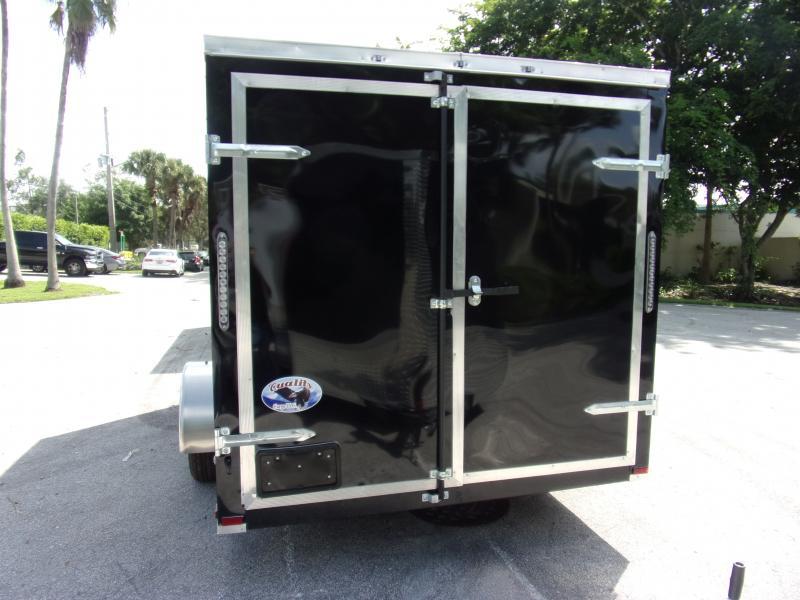 *117791* 7x12 Enclosed Cargo Trailer  LRT Trailers 7 x 12