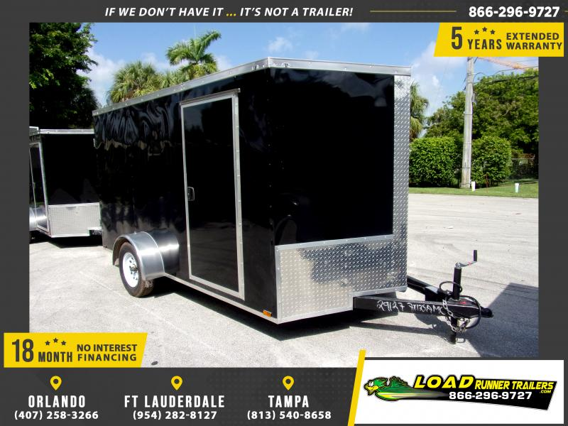 *117791* 7x12 Enclosed Cargo Trailer |LRT Trailers 7 x 12