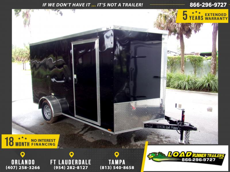 *111675* 7x12 Enclosed Cargo Trailer |LRT Haulers & Trailers 7 x 12