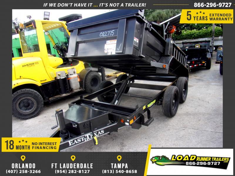 *115025* 5x10 Dump Trailer |LRT Tandem Axle Trailers 5 x 10