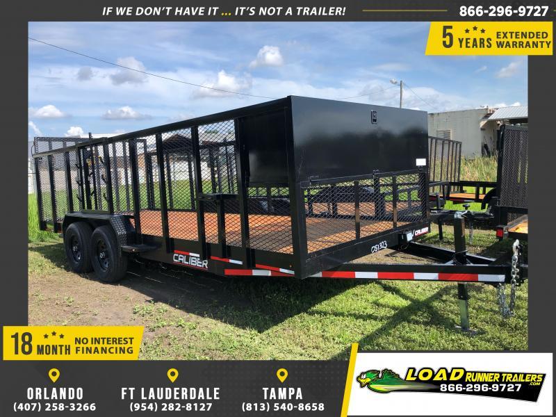 *114521* 7x20 Utility|Lawn|ATV|Multipurpose Trailer |LRT Tandem Axle Trailers 7 x 20