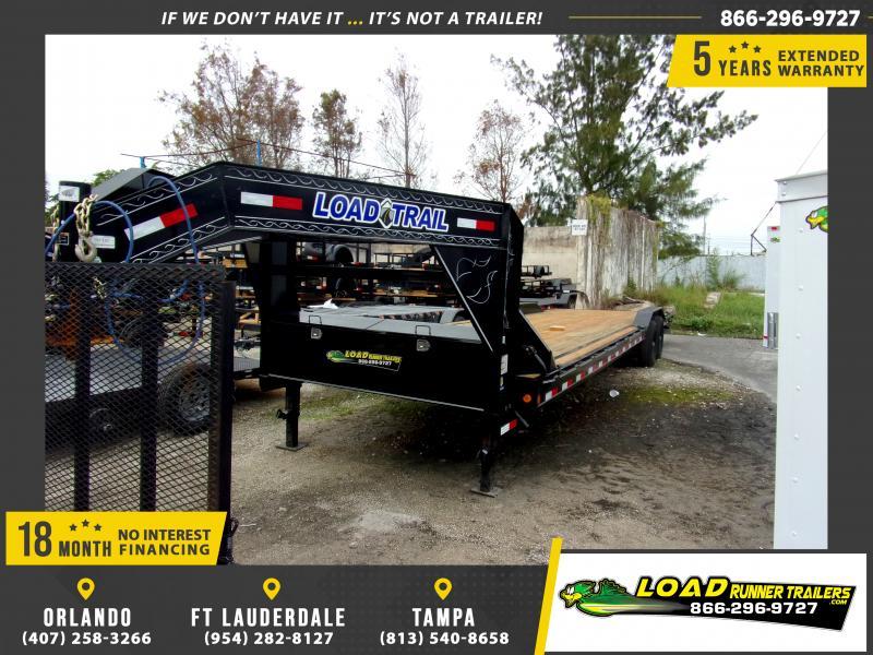 *116037* 8.5x32 Gooseneck Car Trailer |LRT Tandem Axle Trailers 8.5 x 32