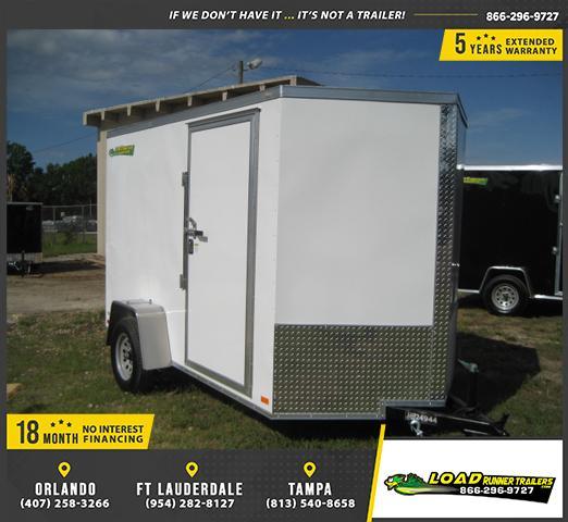 *E3B* 6x10 Enclosed Trailer Cargo L R  Lawn Trailers 6 x 10 | EV6-10S3-R