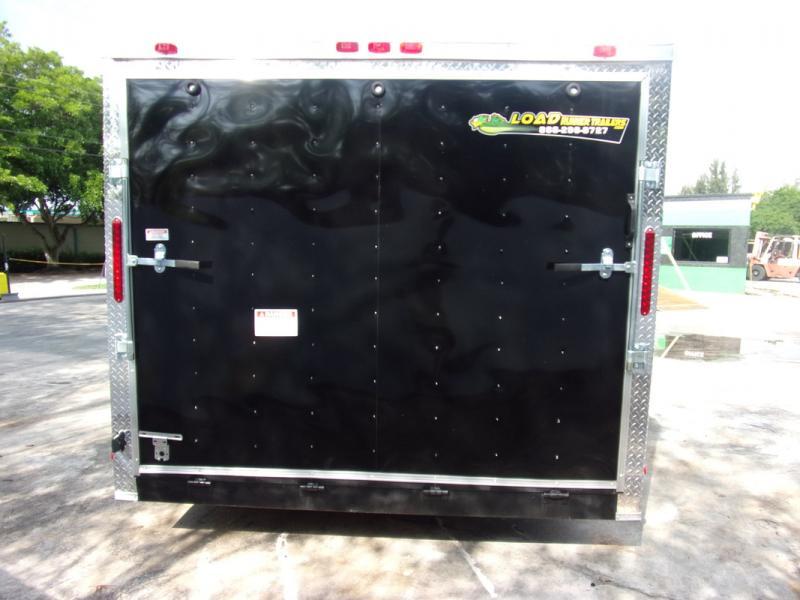 *108941* 8.5x14 Enclosed Cargo Trailer |LRT Tandem Axle Trailers 8.5 x 14