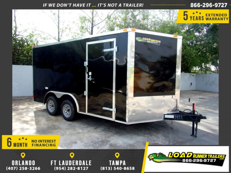 *108941* 8.5x14 Enclosed Cargo Trailer |LRT Tandem Axle Trailers 8.5 x 14